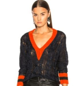 Rag and Bone Emma Cropped Sweater